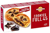 Cookies Full 45, Dark Chocolate (Violanta) 150g - Parthenon Foods