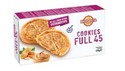 Cookies Full 45, Peanut Butter (Violanta) 150g - Parthenon Foods