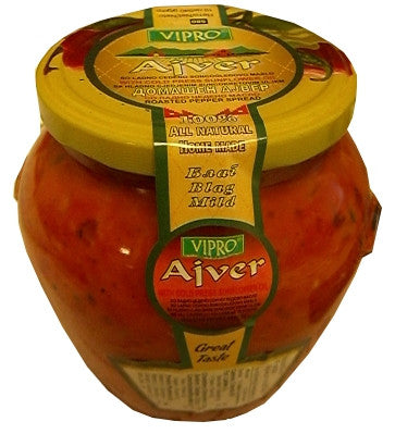Home Made AJVER With Cold Press Sunflower Oil, 19 oz (540g) - Parthenon Foods