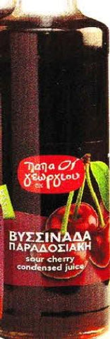 Sour Cherry Syrup - Vissinada-Visino (Papa George) 900g - Parthenon Foods