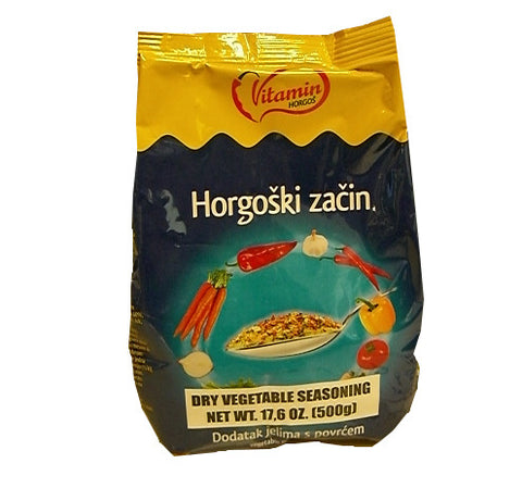 Horgoski Zacin, Dry Vegetable Seasoning (Vitamin) 500g (17.6 oz) - Parthenon Foods