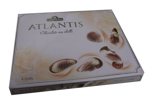 Atlantis Chocolate Sea Shells (Vitaminka) 8 oz (230g) - Parthenon Foods