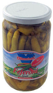 Feferoni Hot, ljuti, (Vitaminka) 620g - Parthenon Foods