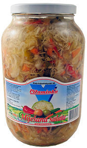 Mixed Salad, Mijesana Salata (Vitaminka) 1900g - Parthenon Foods