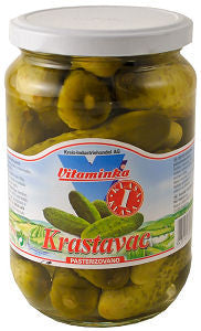 Pickled Cucumbers, Krastavac (Vitaminka) 670g - Parthenon Foods