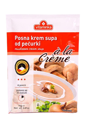 Mushroom Cream Soup (vitaminka) 2.4oz - Parthenon Foods
