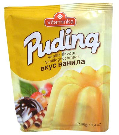 Pudding Powder - Vanilla (Vitaminka) 40g (1.4 oz) - Parthenon Foods