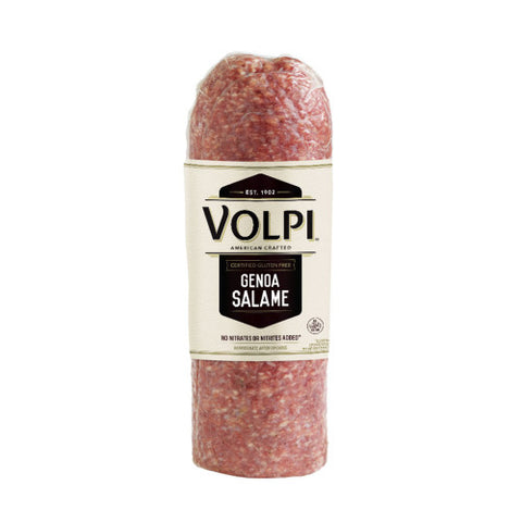 Genova Salame (VOLPI) approx. 5.4 -5.9 lbs - Parthenon Foods