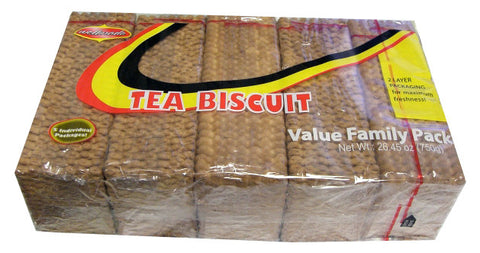 Tea Biscuit Value Family Pack (Wellmade) 26.45 oz (750g) - Parthenon Foods