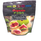 Organic Figs, Sun-Dried (Wild&Raw) 6 oz (170g) - Parthenon Foods