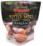 Organic Pitted Dates, Sun-Dried (Wild&Raw) 5 oz (142g) - Parthenon Foods