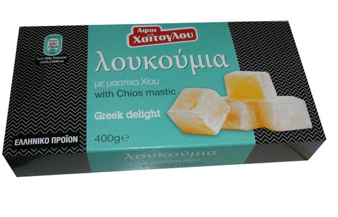 Loukoumi Greek Delight with Chios Mastic (Xaitoglou) 400g - Parthenon Foods