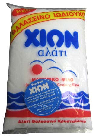 Sea Salt, Fine (XION) 500g - Parthenon Foods