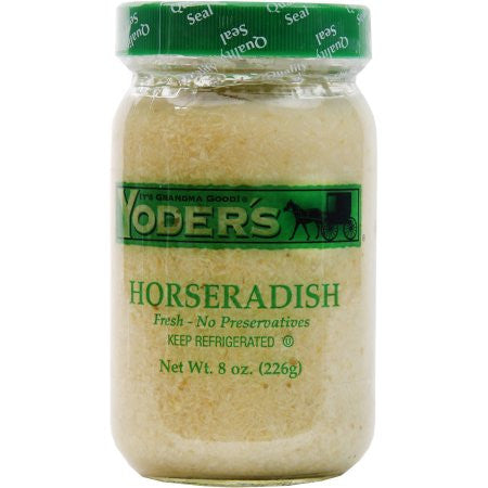 Horseradish Pure (Yoder's) 8 oz (226g) - Parthenon Foods