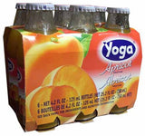 Apricot Nectar (Yoga) CASE (6 x 4.2 oz) (6 Pack) Bottles - Parthenon Foods