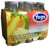 Pear Nectar (Yoga) CASE (6 x 4.2 oz) (6 Pack) Bottles - Parthenon Foods