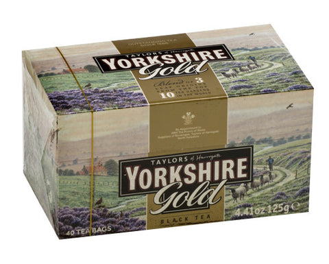 Yorkshire Gold Tea, 40 tea bags (125g) Taylors - Parthenon Foods