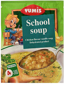 School Soup, Chicken Flavored (Yumis) 65g - Parthenon Foods