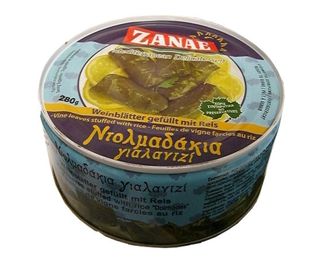 Grape Leaves stuffed with rice (zanae)  280g - Parthenon Foods  - 1