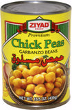 Chick Peas - Garbanzos (Ziyad) 439g - Parthenon Foods
