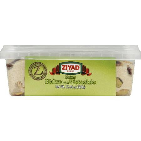 Halva with Pistachio (Ziyad) 12.34oz (350g) - Parthenon Foods  - 1