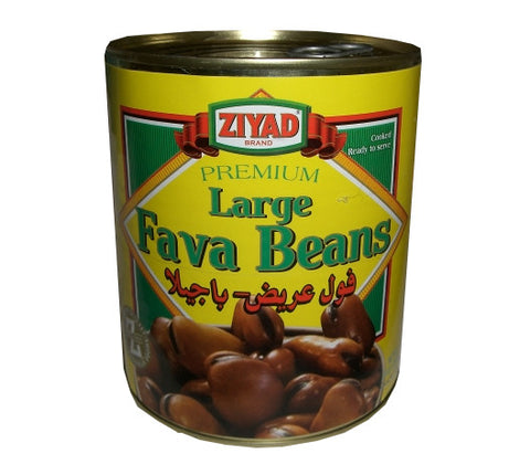 Large Fava Beans (Ziyad) 30 oz (850g) Can - Parthenon Foods
