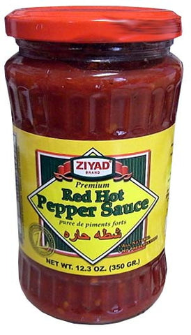 Red Hot Pepper Sauce (Ziyad) 12.3oz (350g) - Parthenon Foods