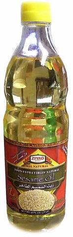 Sesame Oil - Extra Virgin, 26 fl.oz. - Parthenon Foods