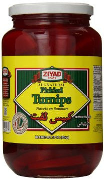 Pickled Turnips (ziyad) 30 oz - Parthenon Foods