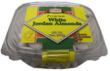 White Jordan Almonds (Ziyad) 12 oz (340g) - Parthenon Foods