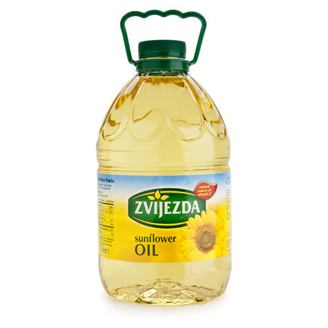Sunflower Oil - Zvijezda, 3L - Parthenon Foods