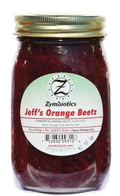 Jeff's Orange Beetz (Zymbiotics) 16 oz - Parthenon Foods