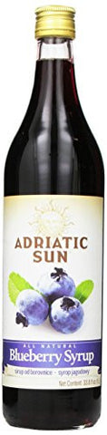 Blueberry Syrup (Adriatic Sun) 1L (33.8 oz) - Parthenon Foods