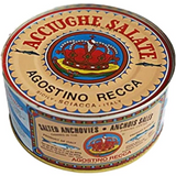 Salted Anchovies (AgostinoRecca) 5 Kg - Parthenon Foods
