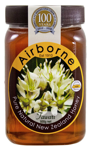 Airborne Tawari Honey, (17.85oz) 500g - Parthenon Foods