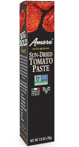 Amore Sun-Dried Tomato Paste 2.8oz (79g) - Parthenon Foods