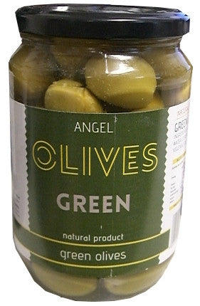 Angel Green Olives 700g - Parthenon Foods