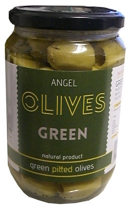 Angel Pitted Green Olives 700g - Parthenon Foods