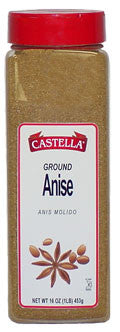 Anise, Ground, 16oz(1lb) - Parthenon Foods