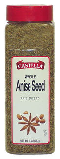 Anise Seed, Whole (Castella) 14oz - Parthenon Foods