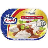 Mackerel Fillets in Tomato Cream (Appel) 200g - Parthenon Foods
