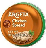 Chicken Pate (Argeta) 95g - Parthenon Foods
