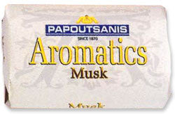 Aromatics Luxary Soap, Musk, 125g - Parthenon Foods
