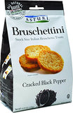 Bruschettini, Cracked Black Pepper (Asturi) 120g - Parthenon Foods