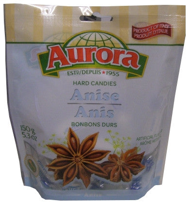 Anise Hard Candies (Aurora) 150g - Parthenon Foods