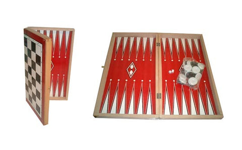 Backgammon Set (Tavli) Reg. - Parthenon Foods