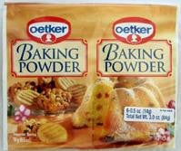 Baking Powder (Oetker) 84g - Parthenon Foods