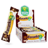 Bananko, CASE, 30gx36, Chocolate Covered Banana Flavored Dessert - Parthenon Foods