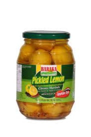 Pickled Lemon (Baraka) 950g - Parthenon Foods