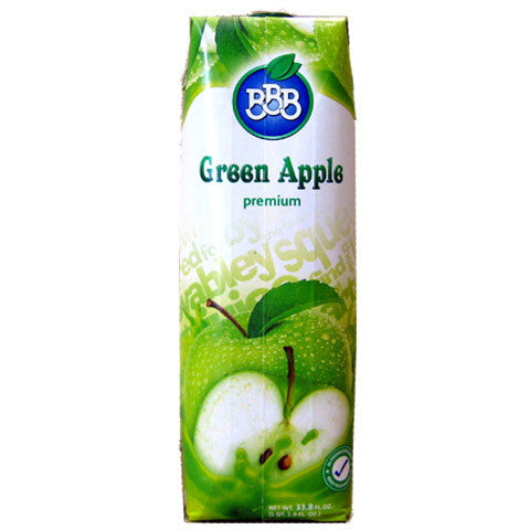 Green Apple Juice (BBB) 1L - Parthenon Foods